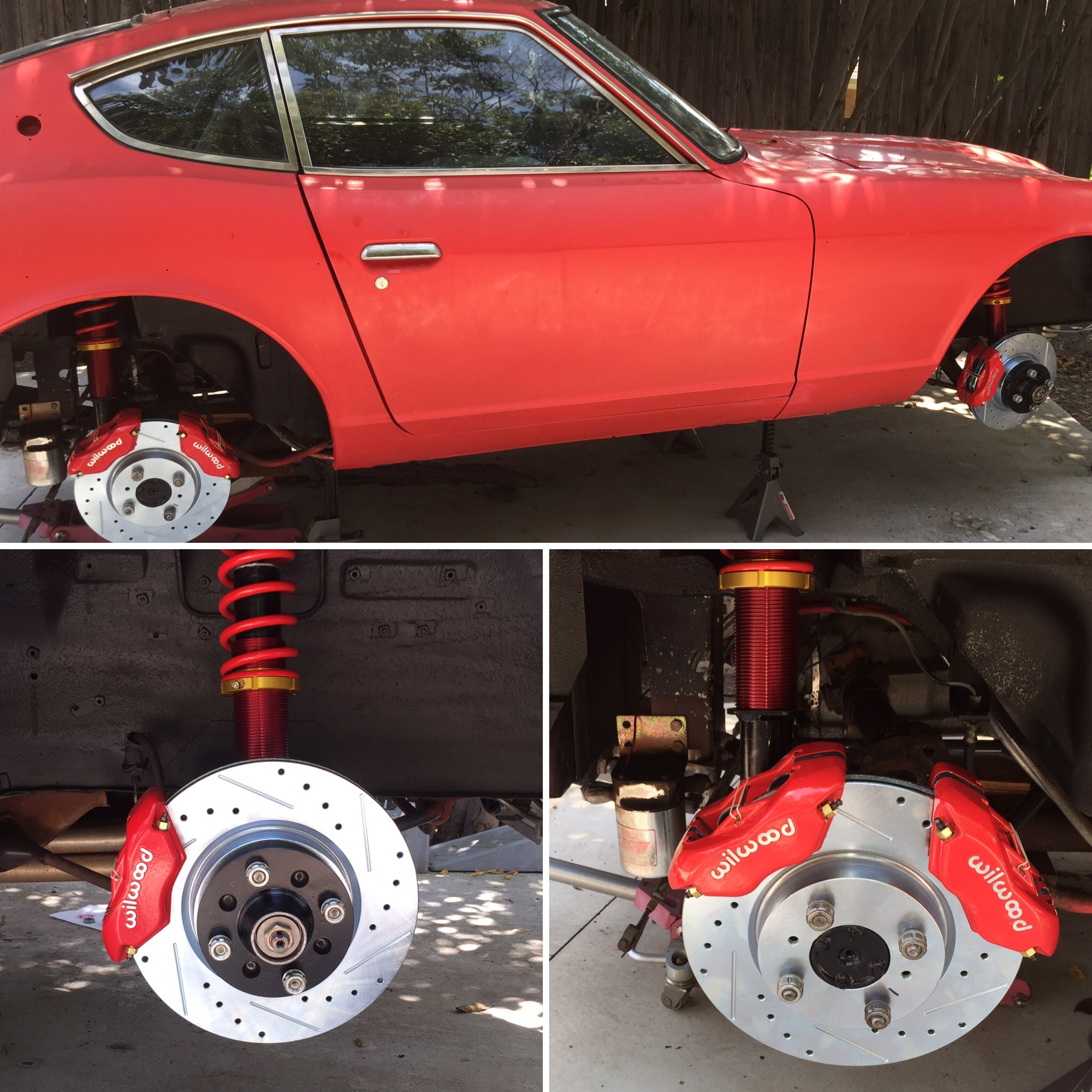 240z suspension upgrade part