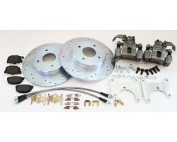 240z, 260z, 280z Rear Brake Upgrade Disk Conversion Kit