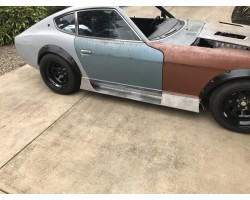 S30 SIDE SPLITTERS 240Z / 260Z / 280Z