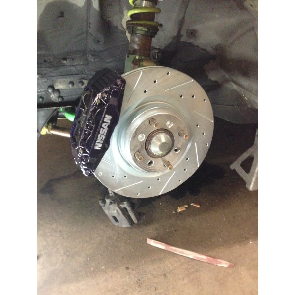 240sx Track Edition Big Brake Kit 350z Brembo
