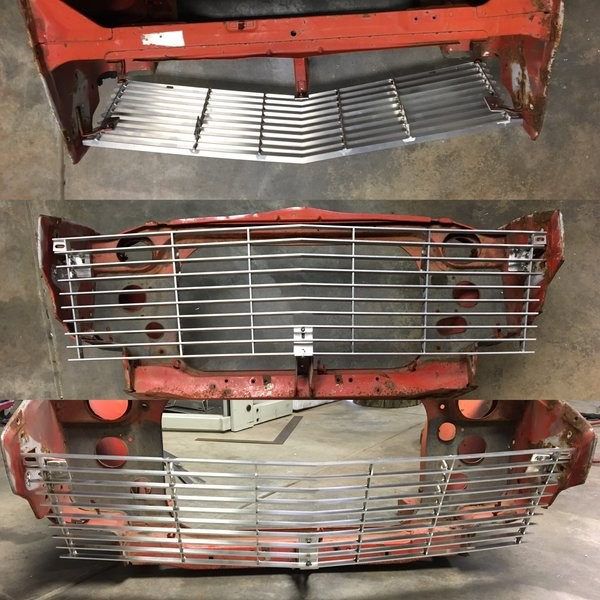 Datsun 240z Front Grill