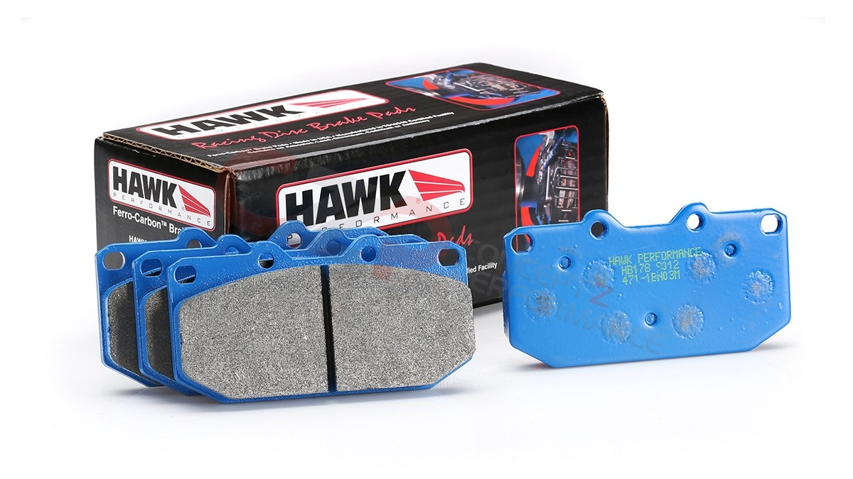 Hawk Performance HB178E.564 Blue 9012 Brake Pads, Front - Nissan 300ZX 90-96 Z32 - also fits toyota 4runner s12W caliper Nissan performance parts