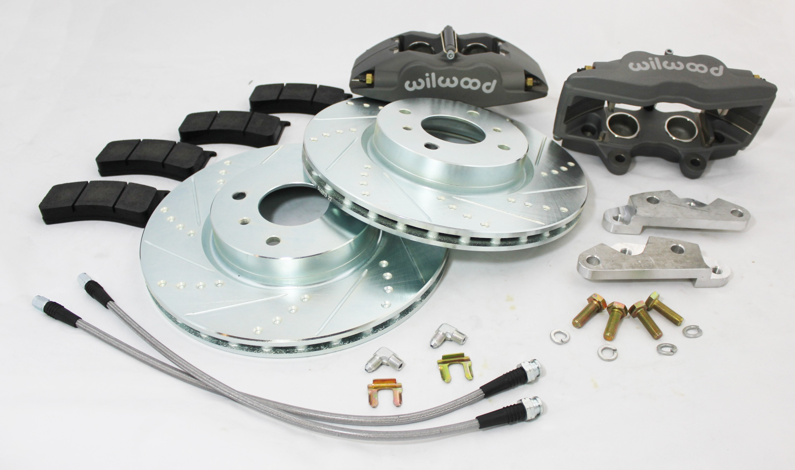 240z 260z 280z front wilwood brake upgrade kit superlight calipers