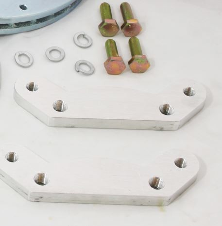 280zx front wilwood custom CNC brackets for 120-6816 caliper
