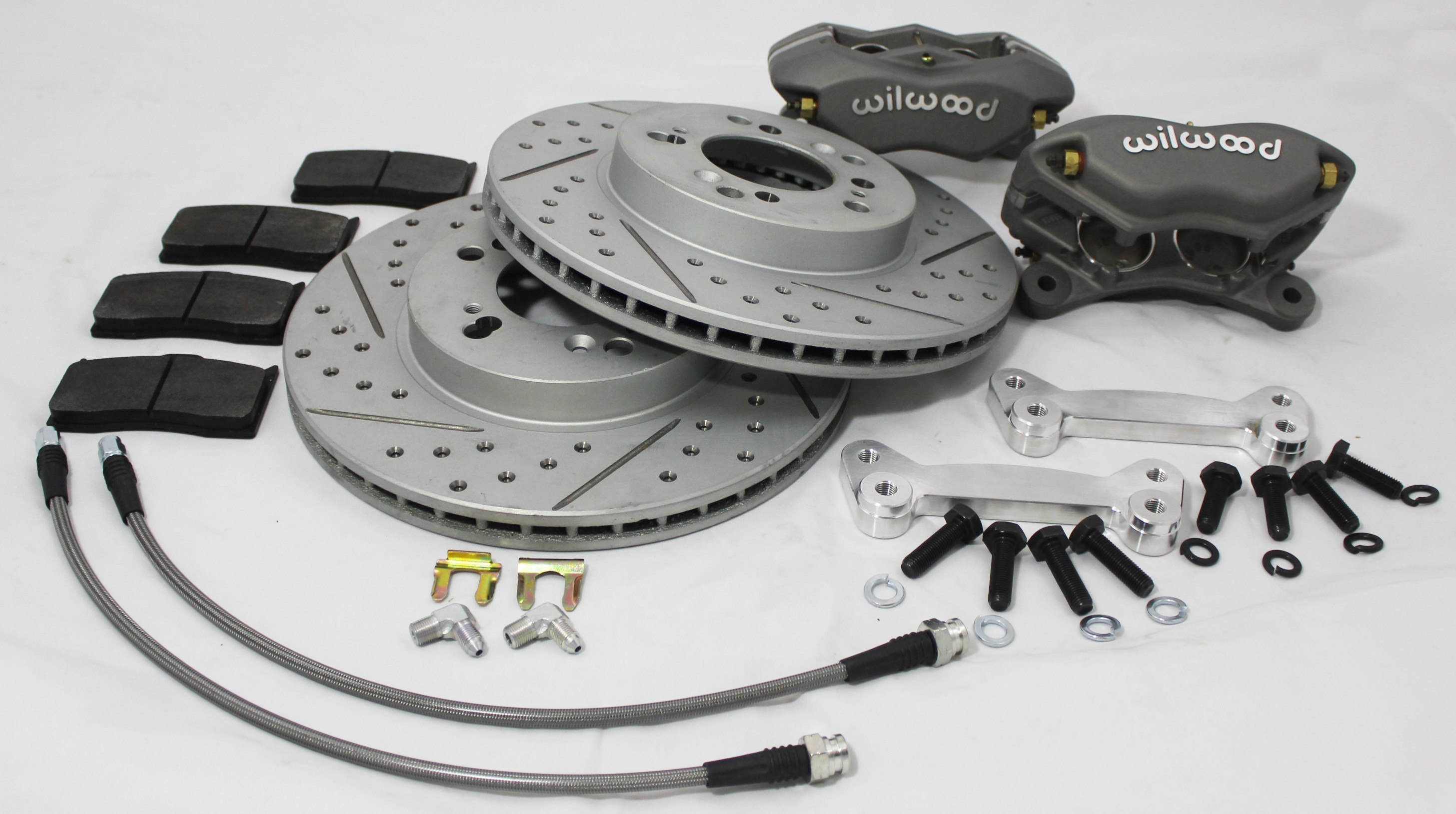 1989-2005 mazda miata FRONT WILWOOD BIG BRAKE KIT FOR  NA / NB CHASSIS performance upgrade BY SILVER MINE MOTORS
