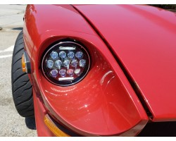 240z 260z 280z 280zx LED headlight low beam hi beam driving light blinker SAE, DOT compliant