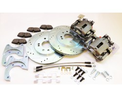 Stage 4 Rear Big Brake Upgrade Kit for datsun  240Z, 260Z, 280Z with emergency brake!