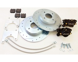 Wilwood rear 2 piston caliper brake kit for 240z, 260z, 280z