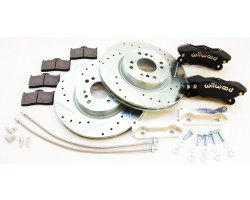 Datsun 510 front Wilwood brake upgrade kit fits sedan and wagon models