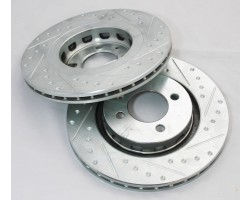 1982 TO 1994 BMW 325I 318I E30 FRONT WILWOOD BRAKE UPGRADE custom CNC rotors