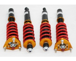 Silver Mine Motors COILOVER SUSPENSION KIT FOR DATSUN 280zx 32 STEP DAMPER  COILOVERS NISSAN 1979-1983