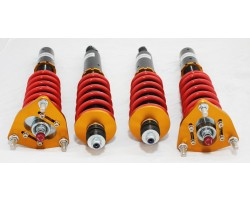 Silver Mine Motors COILOVER SUSPENSION KIT FOR DATSUN 510 1968-1973 with 30 STEP DAMPER  COILOVERS NISSAN COUPE OR 4 DOORS (DOES NOT FIT STATION WAGON)