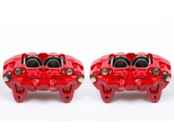 2000 - 2006 TOYOTA TUNDRA STOCK FRONT calipers in red or OEM silver color