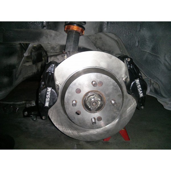 240sx Dual 300zx Caliper Brake Upgrade With Dedicated