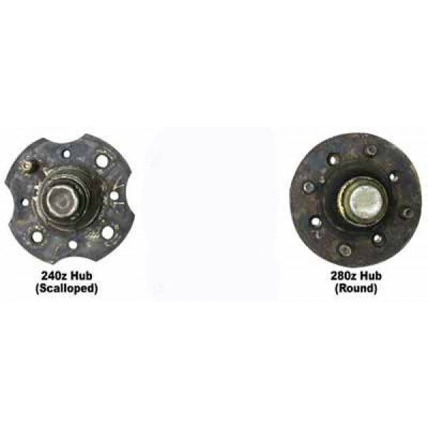 Spacer Toyota Front Vented Rotor Brake Upgrade S12w