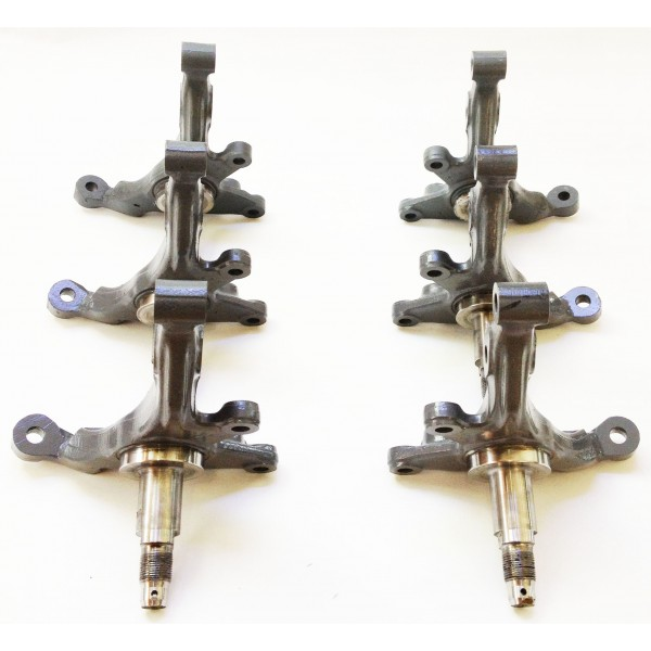240sx high angle modified steering drift knuckles for S13 S14